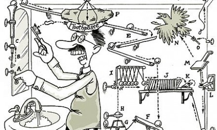 Rube Goldberg Would Be Proud!