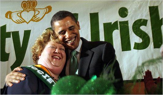 All the Blarney on Barack O'Bama