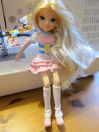 Kat's Barbie in original clothes