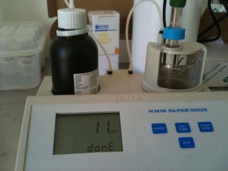 Sulfite Tester