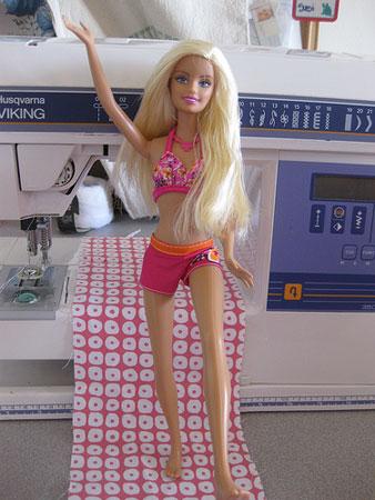 Susi's Barbie in original outfit