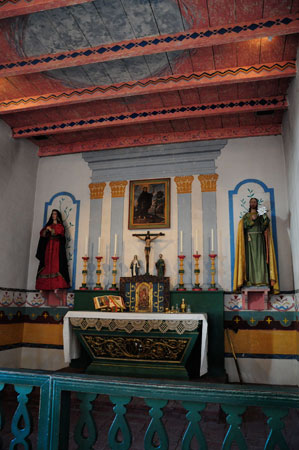 altar, san francisco de solano, sonoma