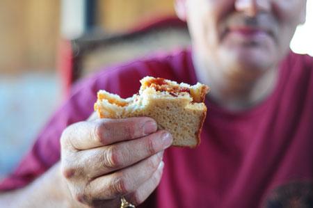 classic British Bacon Sarnie