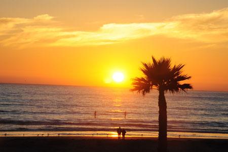 Sunset on Pismo Beach