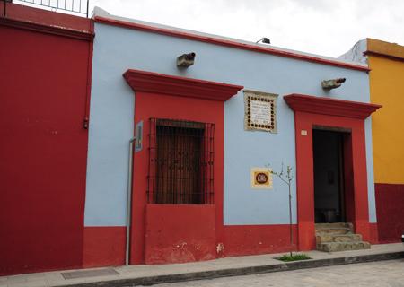 BEnito Juarez house, Oaxaca