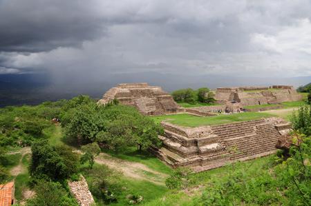 Monte Alban view, Oaxaca