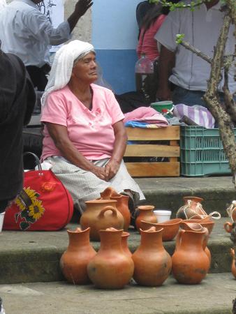 oaxacan street vendor