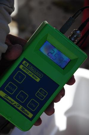 pH meter for verjus