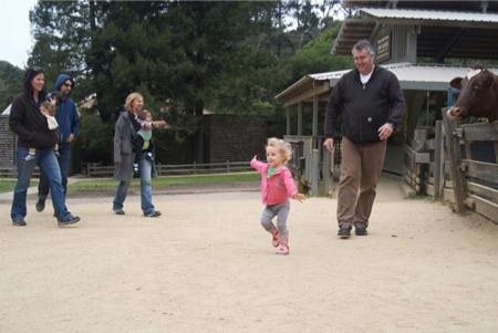 Amelia May dancing