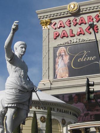 Caesar hails Celine Dionne