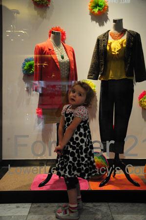 Amelia May, fashionista