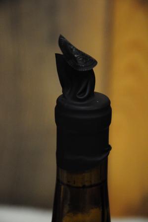 misshapen wine cap