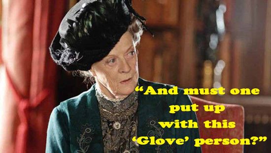Lady Grantham puts down Mitt