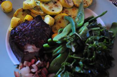 veggie heavy dinner