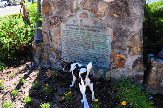 pony express marker, placerville, ca