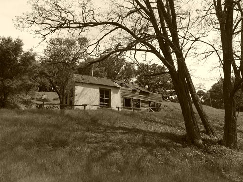map house at English Camp, Almaden Quicksilver