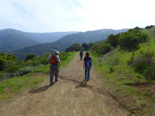 Ridgetop trail, Almaden Quicksilver park