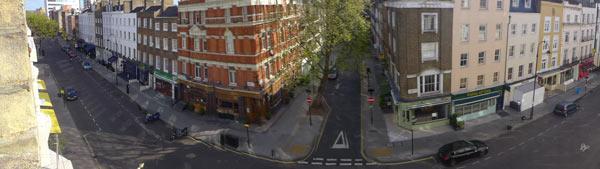 Fitzrovia, Charlotte Street, London