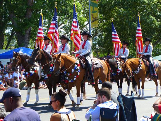 Sonoma 4th parade