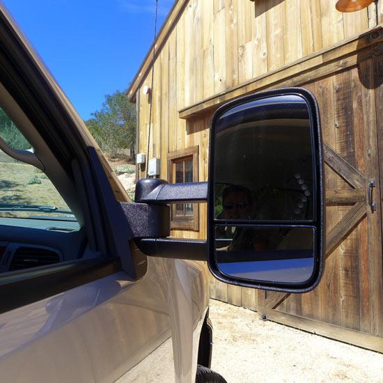 wing mirror, Silverado