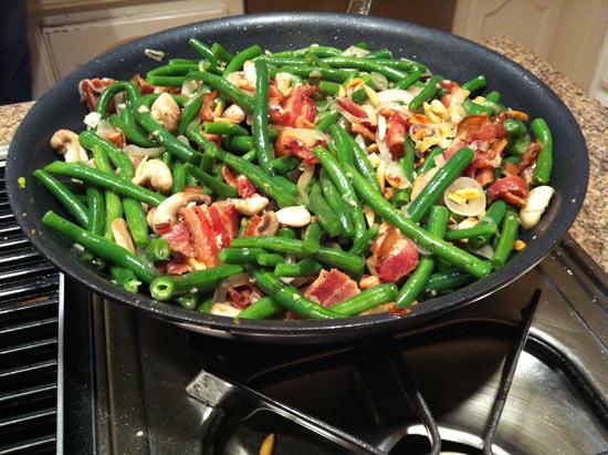 bacony green beans