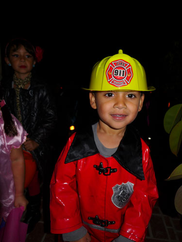 halloween firefighter