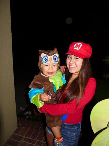 little halloween monkey
