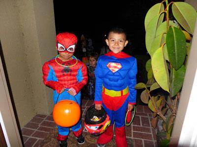 halloween superheroes